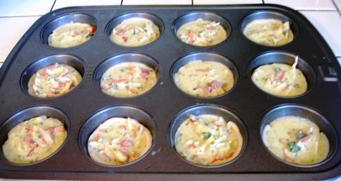 Before baking.....