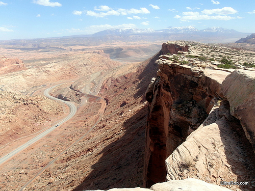 Moab, Utah Mountain Biking Trail