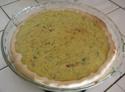Regular Pie-shaped Quiche