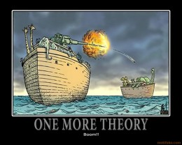 There are many theories as to how the dinosaurs became extinct.