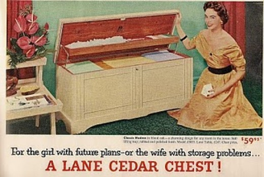 "Marion Unpacked Her ""Hope Chest"""
