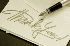 How to Say Thank You in Writing
