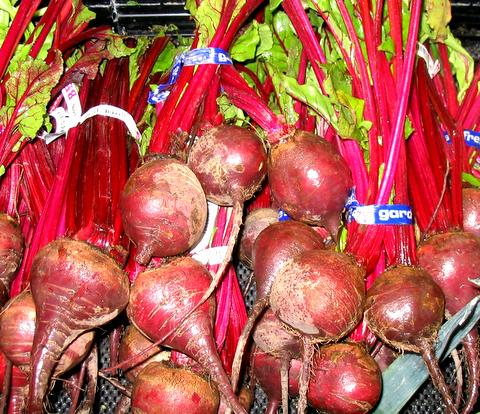 Beet(root) in the produce section
