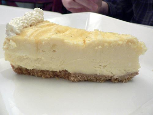 Oooh - Cheesecake!
