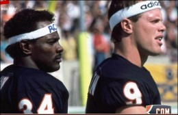 Walter Payton and Jim McMahon
