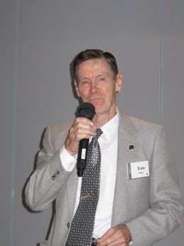 Tom has had nearly forty years experience as a speaker, having presented hundreds of times to thousands of listeners.