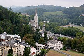 Lourdes, France -- image is courtesy of wikipedia
