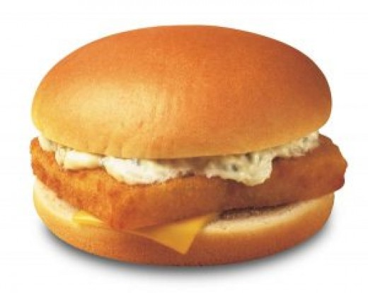 The famous McDonald's Filet-O-Fish