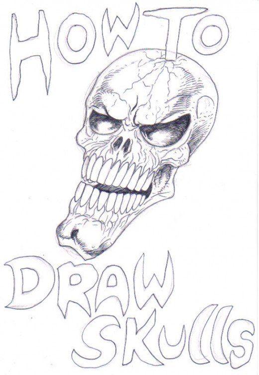 Drawing Skulls: How To Draw A Skull