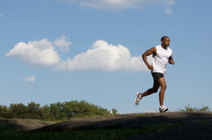 Running is excellent exercise for weight loss for men