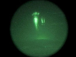 Sprites have the same cause as aurora, but these have been tied to the production of lightning.