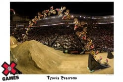 Travis Pastrana - Double BackFlip at X Games 12 in Los Angeles, CA
