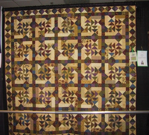 Whirligig, at AQG Quilt Show