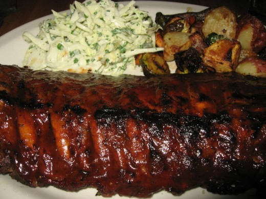 Here I am not only going to tell you how to make the worlds best barbecue ribs but I am also going to share the recipes for the delicious slaw and potatoes to go along with your ribs.