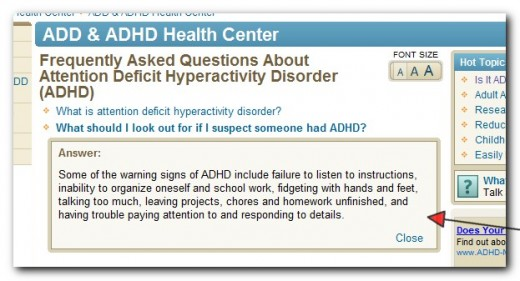 Is your child showing these symptoms? It could be ADHD.