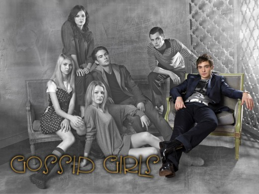 Gossip Girls cast, edited by gamergirl in Photoshop CS
