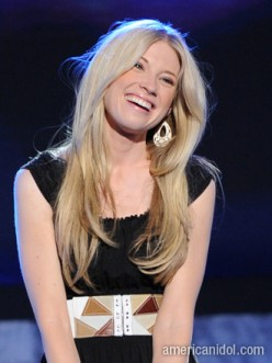 Beautiful Brooke White...  this is the smile that captured America's heart and of which she will be remembered on American Idol.