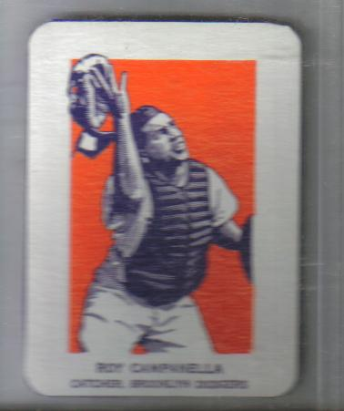 Actual 1951 Roy Campanella Wheaties card.