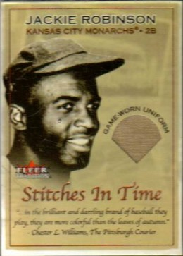 Jackie Robinson card.