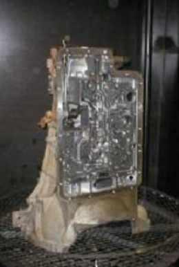 Transmission case are clean with other parts reducing average job by 30 to 40 minutes