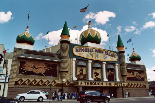 CORN PALACE IN MITCHELL SOUTH DAKOTA