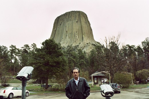 JAMES AT DEVILS TOWER