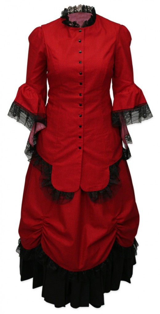 This charming walking suit is available from http://www.ladiesemporium.com