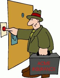 Get better at door to door insurance sales