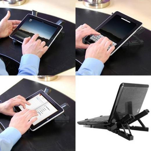 A complex iPad stand
