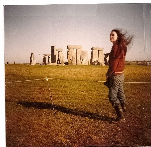This was taken in April/1980, at the Monument.  I was still a college student.