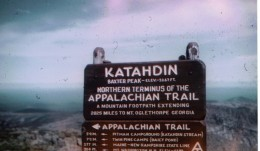 s marking beginning of Appalachian Trail