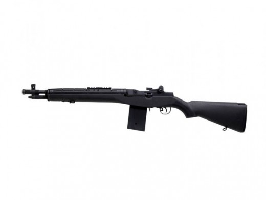 This M14 airsoft gun would've cost over 300$ a few years back.