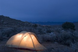 Camping is a great summer vacation idea!