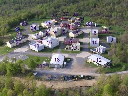 Operation Pine Plains is held in the North East US and involves intense CQB action. Check out the number of houses in this CQB Facility!