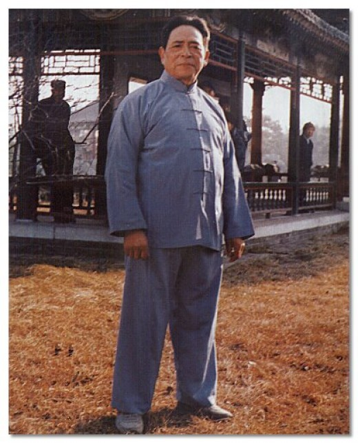 I'm not sure when or where this was taken, but I love this picture of GM feng. if you don't know who he is, he is the founder of Chen Hunyuan Xinyi Taijiquan and was the top disciple of Chen Fake.
