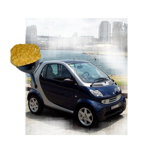 The Mac n Cheese Car offers unique opportunities for alternative fuel alternatives.