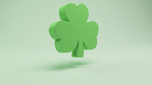 This is a Shamrock not a Four Leaf Clover