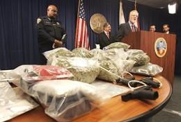 Officials, including SDSU President Stephen L. Weber, discuss the investigation.