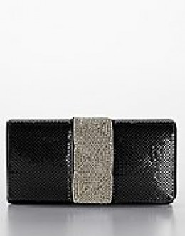 Available at Lord and Taylor. Photo credit: lordandtaylor.com. Whiting and Davis Chain Mesh Clutch