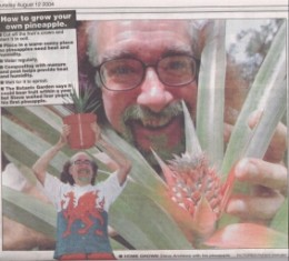 Press cutting of Bard of Ely in South Wales Echo