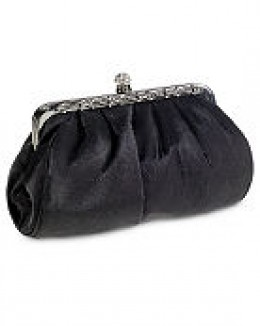 Available at Spiegel. Photo credit: spiegel.com. Satin and Rhinestone clutch.