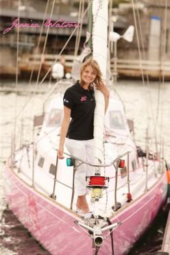 Jessica Watson's Sydney Harbour Arrival