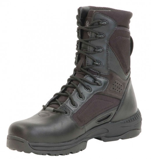 An example of tactical boots