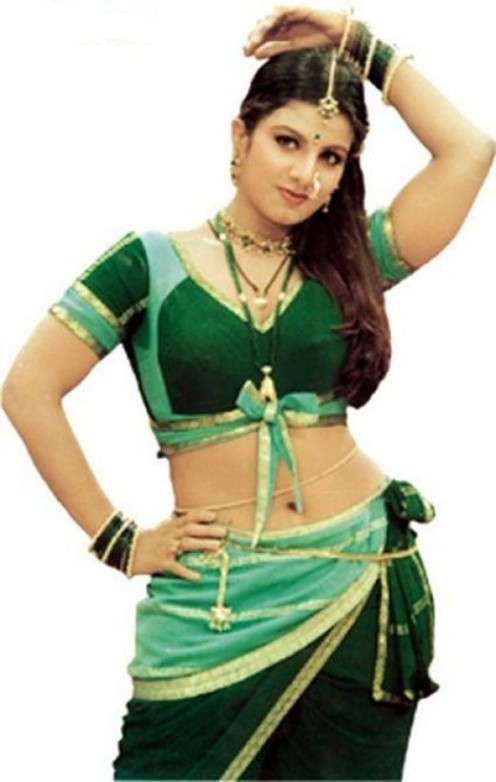 Actress Rambha Navel Show Photos