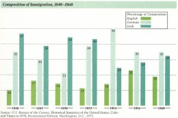 US Immigration Statistics-1800's