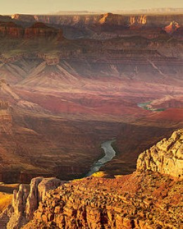 The Grand Canyon from the South Rim Photo from Wikimedia Commons