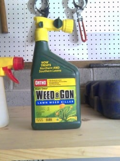 If you don't have a sprayer this bottle cost the same $7.50 And just spray until you run out!
