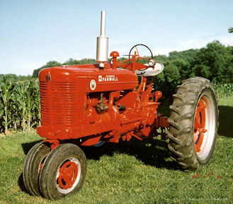 """This tractor and an """"H"""" model were what my father and his brother were using when I came along."""