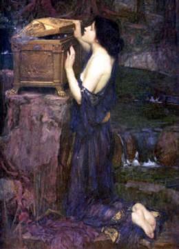 John William Waterhouse, Pandora, 1896