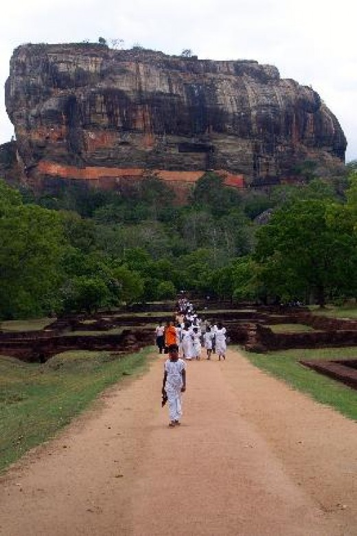 Sigiriya rock fortress , also known as lions rock